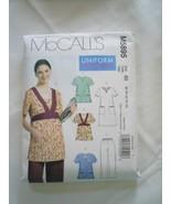 Uniform Essentials Scrubs Pattern Tops Tunic Pants 8 10 12 14 16 McCall'... - $5.99
