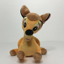 "Disney Bambi Beanie Plush Stuffed Animal 8"" Long Laying - $18.69"