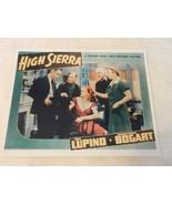 Humphrey Bogart Color Lobby Card Reprint High Sierra Ida Lupino 8x10 - $22.28