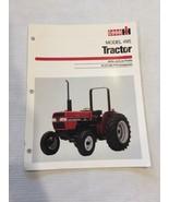 Case IH 495 Tractor Specifications Sales Brochure Literature CIH Interna... - $12.19