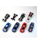 Lot of 8 McDonald's 1998-1999 Mattel Hot Wheels Race Car Happy Meal Toy ... - $9.99