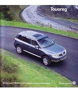 2006 Volkswagen TOUAREG sales brochure catalog 06 VW V6 V8 - $10.00
