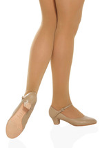 So Danca CH50 Women's Size 4M (Fits Size 3.5) Tan Character Shoe - $19.99