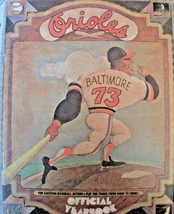 1973 BALTIMORE ORIOLES Official Yearbook BROOKS ROBINSON Jim PALMER Earl... - $16.40