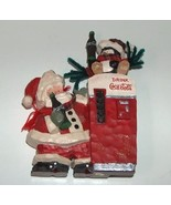 Coca Cola Resin Santa Figurine - $9.99