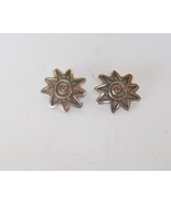 Sterling Silver Sun Design Stud Earrings by Jam... - $50.00