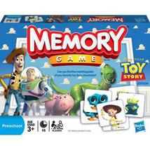 New Sealed Toy Story Memory Game Educational for Ages 3+ Disney Pixar Ha... - $15.04