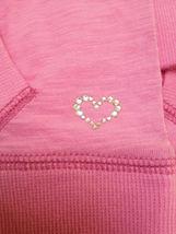 Gap Kids L 10 Top Pink Long Sleeve Kangaroo Pockets Back to School image 3