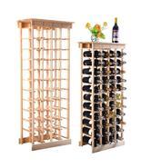 WineyBitches.Co 44 Bottle Wood Wine Rack Home Bar - $109.99