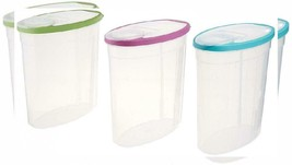 Rubbermaid 1.5 gallon Cereal/Snack Storage Container (3 Pack),... - $42.57 CAD