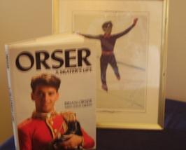 Brian Orser - Orser:  A Skater's Life - unique edition - $60.00