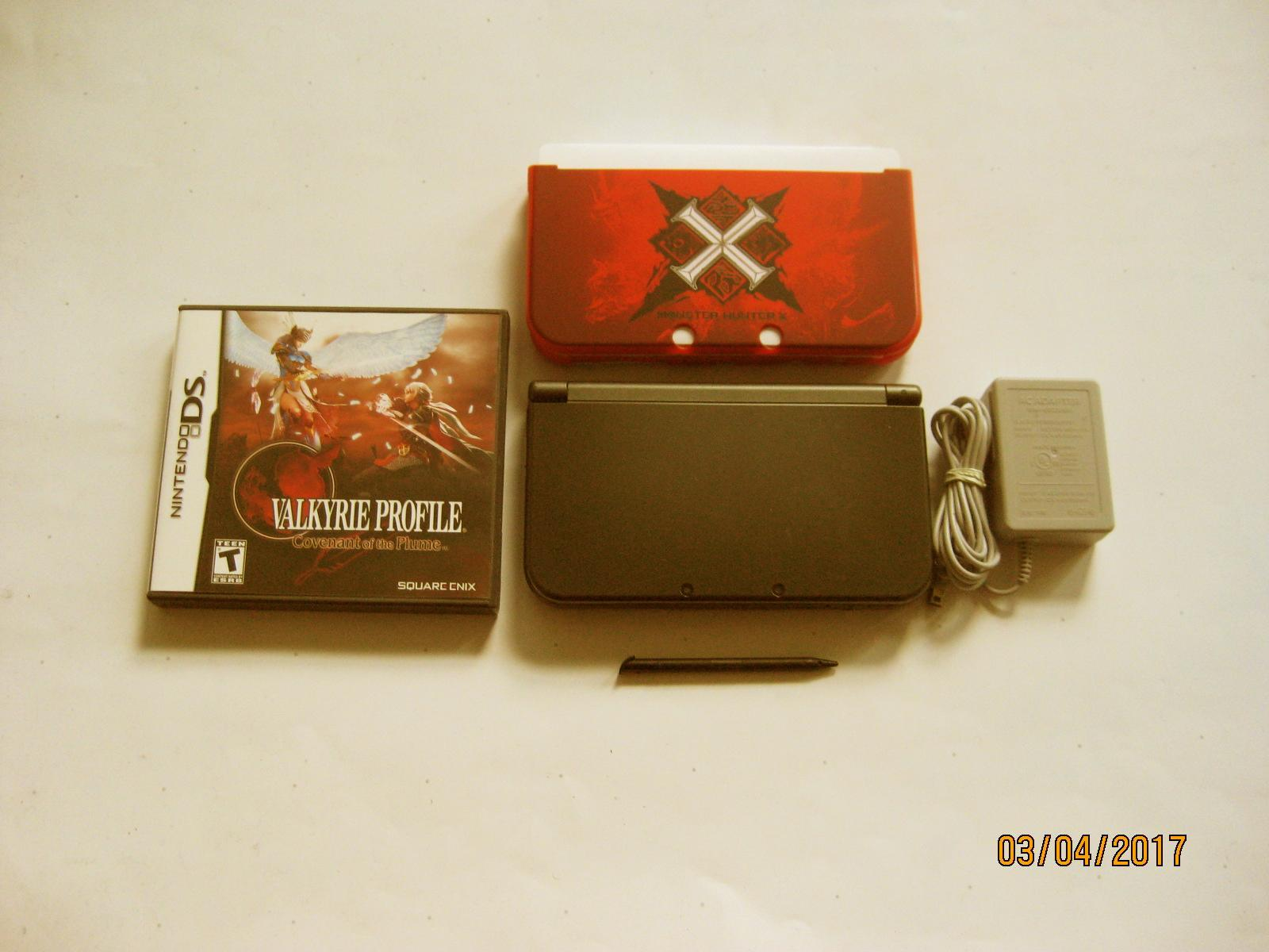 Primary image for Nintendo New 3DS XL Black 9.6 w Valkyrie Profile  & More !!