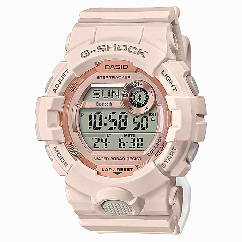 Casio G-Shock G-Squad for Ladies Lineup Pink Resin Band GMDB800-4D GMDB800-4