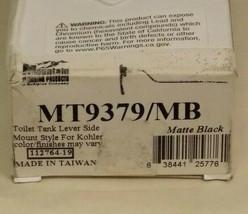 Mountain Plumming for Kohler  MT9379-/MB Tank Lever Side  Matte Black ** New ** - $40.00