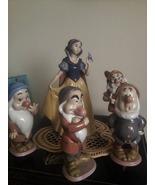 Lladro Disney Snow White and 4 of the dwarfs  Mint Condition w/original ... - $2,250.00