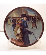 A Helping Hand-Rockwell Plate - $25.00