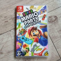 Nintendo Super Mario Party Nintendo Switch Video Game Sealed Brand Free ... - $71.27