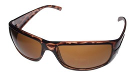 Kenneth Cole Reaction Mens Sunglass Tortoise Rectangle, Brown Lens KC118... - $17.99