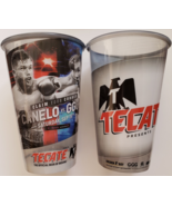 2 Canelo vs GGG2 Tecate Official Beer of Boxing 12 oz Plastic Tumbler, new - $9.95