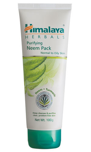 Himalaya Purifying Neem Pack 100g regulate excess oil secretion,clean pores