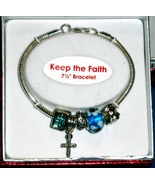 """Bracelet (7.5"""") -Keep the Faith - $9.00"""