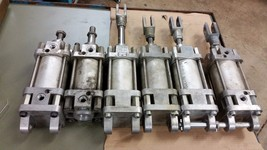 1 LEIBFRIED H92 PNEUMATIC CLEVIS CYLINDER 14-3/4 TO 18-1/4 X 3-1/4 BORE ... - $29.70