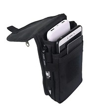Large Smartphone Pouch, Cell Phone Holder, Tactical Phone Holster, - $19.99