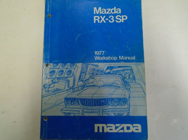 1977 Mazda RX-3 RX 3 SP S PService Repair Shop Manual FACTORY OEM Book Used - $42.56