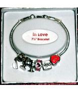 """Bracelet (7.5"""") - In Love - $4.95"""