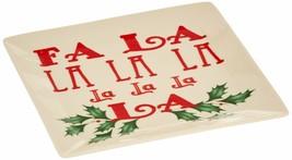 Lenox Square Tidbit Plate, Fa La La La La - $8.50