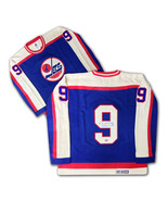 Bobby Hull Autographed Blue Wool Winnipeg Jets Jersey - $665.00