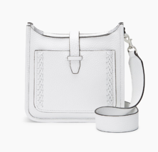 Rebecca Minkoff Mini Unlined Feed Bag Whipstitch, Optic White (HSP7EUWE01) - $84.14