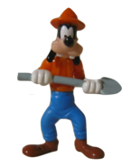 Walt Disney Disneyana Mickey Mouse Goofy Mine Figure Cartoon Toys - $14.32