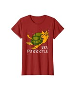 New Tee -  Funny Cat T-Shirt Sea Purrrtle Cat Turtle Shirt Kitten Gifts ... - $19.95+