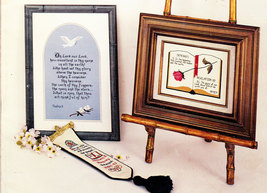 CROSS STITCH SCRIPTURES A COLLECTION OF SPIRITUAL GRAPHS - $5.50