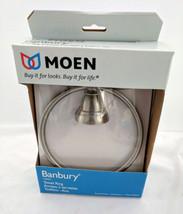 Moen Brushed Nickel BanburyTowel Ring Bar Y2686N New - $25.99