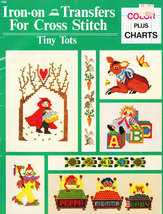 IRON-ON Transfers For Cross Stitch Tiny Tots New - $3.50
