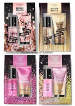 Victoria's Secret Mini Fragancia Niebla & Loción Set Regalo (74ml Each ) Nib - $14.99