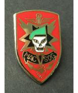 US Army Mac Sog Elite Forces Vietnam Lapel Hat Pin Badge 1 Inch - $4.85