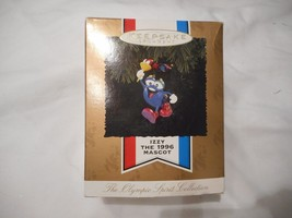 New Hallmark Keepsake Ornament Izzy the 1996 Mascot Christmas Decoration - $2.99