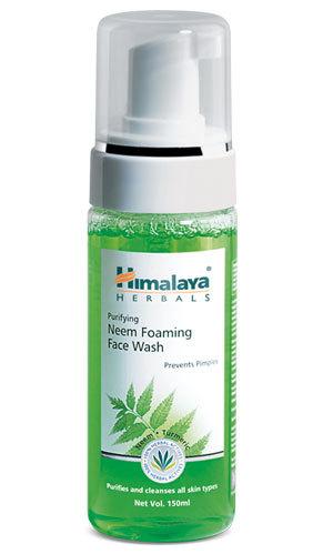 Himalaya Purifying Neem Foaming Face Wash 150ml Neem, Turmeric and Vetiver.