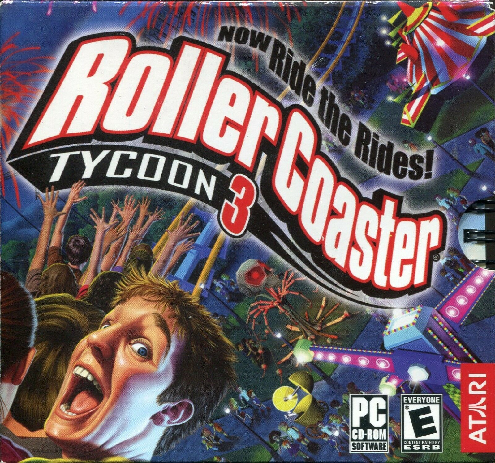 Primary image for RollerCoaster Tycoon 3 (PC, 2004) - COMPLETE BOOKLET / DISC CASE / KEY CODE