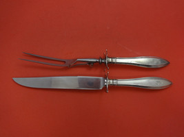 """Portsmouth by Gorham Sterling Silver Roast Carving Set 2pc 12"""" - $221.45"""