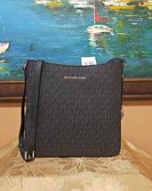 MICHAEL KORS JET SET TRAVEL LARGE MESSENGER Leather CROSSBODY black NWT - $118.00