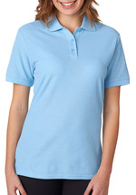 Jerzees Ladies Polo Shirt - 537W - Light Blue - $11.61 CAD+