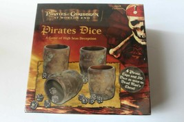 Pirates of the Caribbean DEAD MAN'S CHEST Pirates Dice Game Disney 2007 ... - $25.73