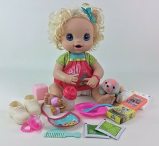 Baby Alive Doll My Baby Alive Hasbro Blonde Interactive 2010 Eats Poops #1 - $80.14