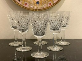 Waterford Crystal Alana White Wine Glasses Set of 6 - $147.51