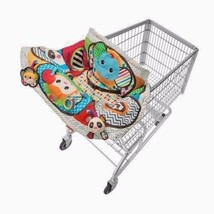 Infant-Activity-Center-Shopping-Cart-Pad-Carrier-Play-Baby-Mat-Fabric-Co... - $28.59