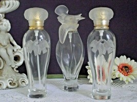 Set of 3 Highly Collectible Nina Ricci L' Air du Temps Perfume Bottles ... - $43.28